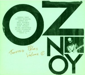 Oz Noy - Twisted Blues Album Cover