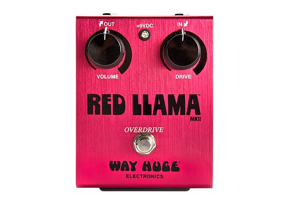 Red Llama Overdrive Pedal - Dunlop
