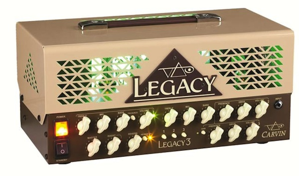Vai's Carvin Legacy 3 - Front View