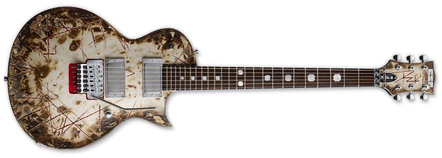 ESP RZK-II Burnt Guitar