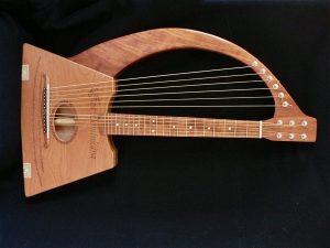 Cigar Box Harp Guitar