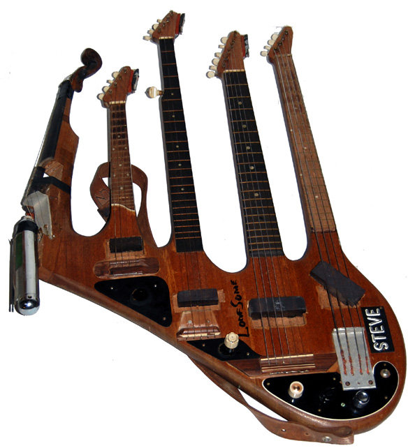 Bass Guitar Mandolin Banjo Violin 5 Neck