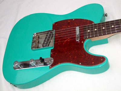 Sea Foam Green Telecaster