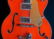Gretsch Orange Brian Setzer