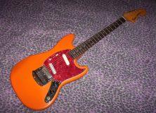 Orange Fender Mustang