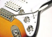 Titanium Knobs on a Stratocaster