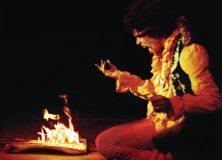 Hendrix Burns His Guitars