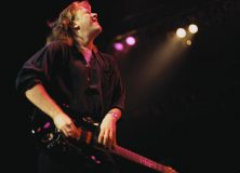 Jeff Healey Playing Over the Neck