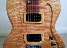 Eric Joseph Customized Contour Curly Maple Review