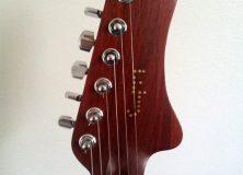 Eric Joseph Guitar Headstock