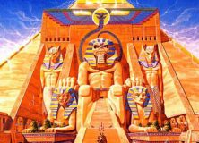 Iron Maiden - Power Slave - Album Cover