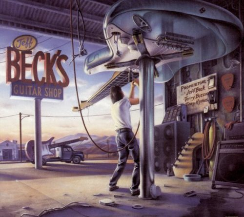 Jeff Beck - Guitar Shop - Album Cover