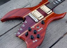 Purpleheart Guitar Wood