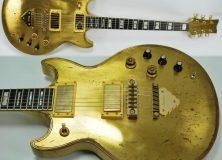 Brass Ibanez Guitar