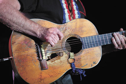 Willie Nelson's Trigger Martin Guitar
