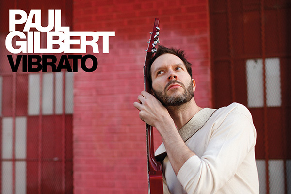 Paul Gilbert Vibrato Electric Guitar rock album