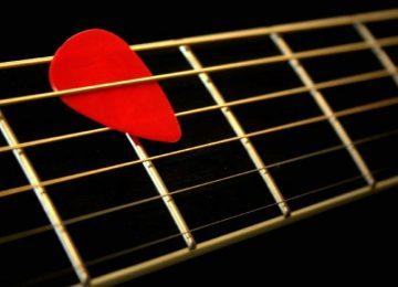 Guitar Neck Guitar Pick