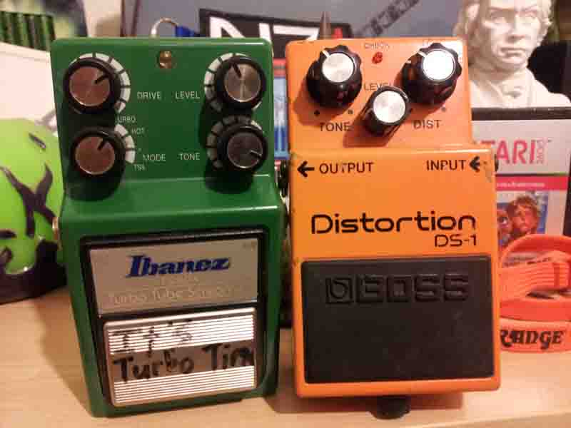 Ibanez Tube Screamer Boss DS-1 Overdrive and Distortion Electric Guitar Effect Pedals