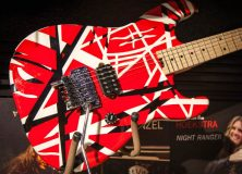 "NAMM 2013: Eddie Van Halen Unleashes ""Stripe"" Series Guitar"