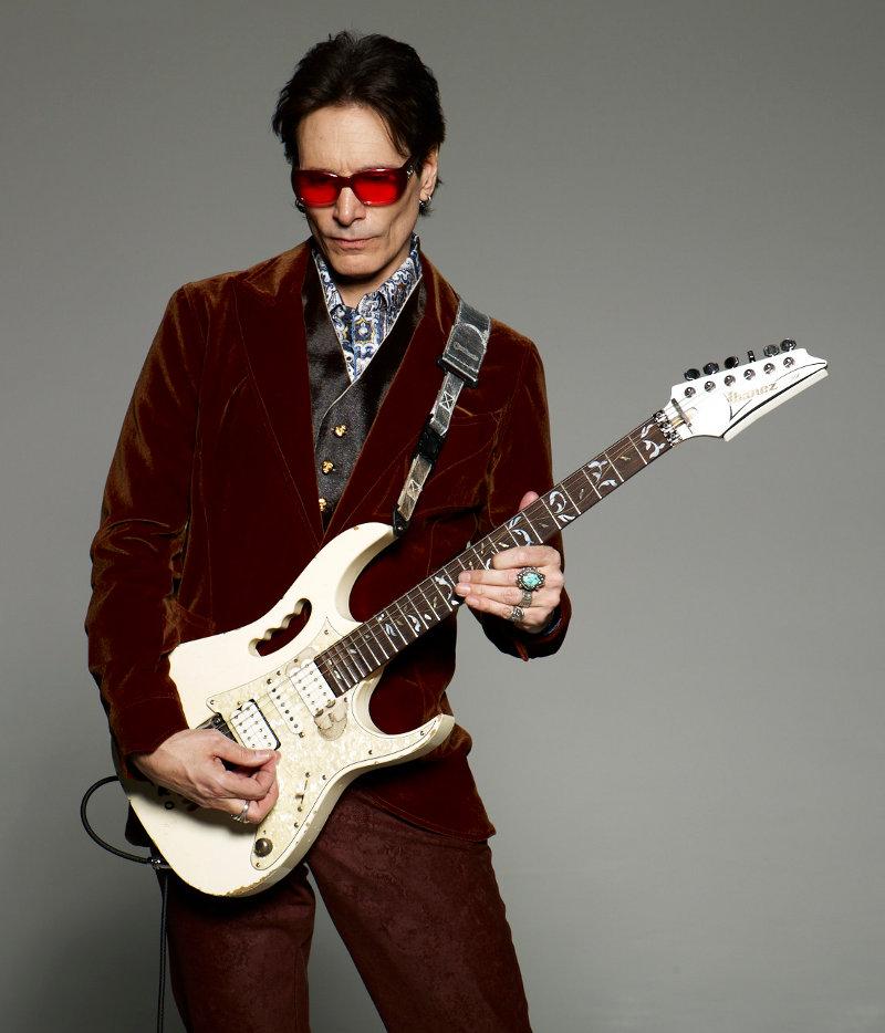 Steve Vai virtuoso electric guitarist Ibanez Steve Vai signature Jem
