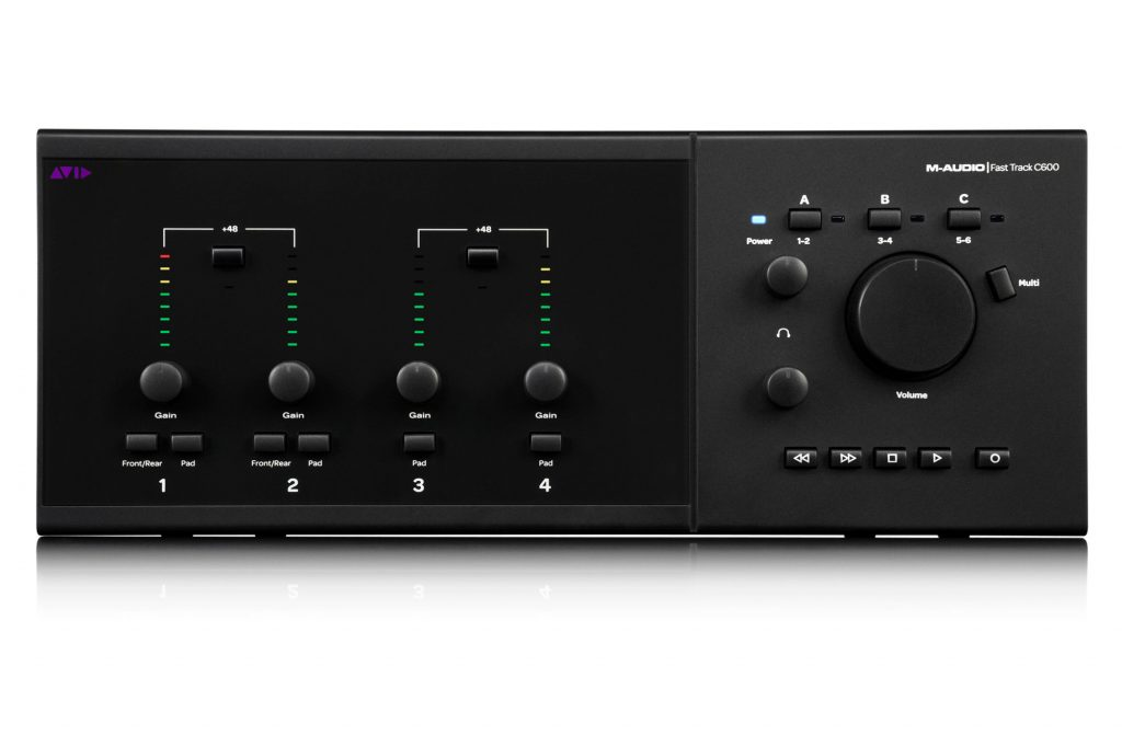 M-Audio / AVID C600 Interface Top View