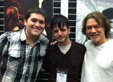 Eddie Van Halen NAMM 2013