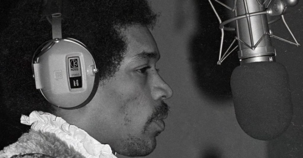 Hendrix in the studio