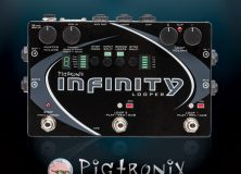 Introducing the Pigtronix Infinity Delay Looper Pedal