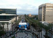 View From NAMM Convention Center