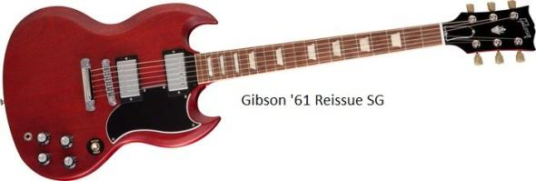 Gibson 61 Reissue SG