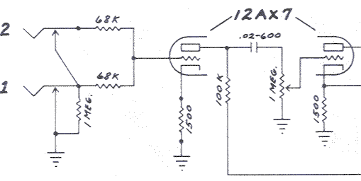 Guitar Tube Schematic