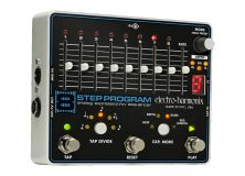 The EHX 8 Step Sequencer Program and Foot Controller