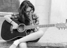 Practicing Guitar