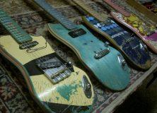 Several Skate Guitars