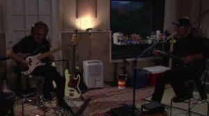 Geezer and Tony in the studio