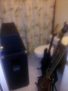 Bathroom Guitars
