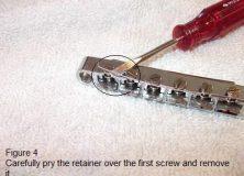 Simple Guitar Repairs Part 3: Cleaning Your Tune-O-Matic Bridge