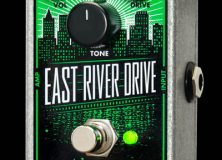 Electro-Harmonix Introduces the East River Drive Overdrive Pedal