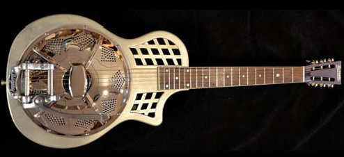 The Dobrato Adds A Bigsby And Brings New Voice To Resonator Guitars