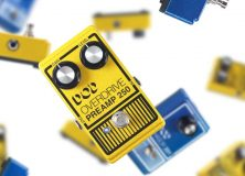DOD Is Back, With Two Classic Pedals - Phasor 201 And The Overdrive Preamp 250