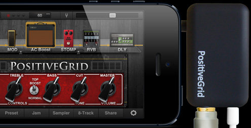 Positive Grid Jam plug Black