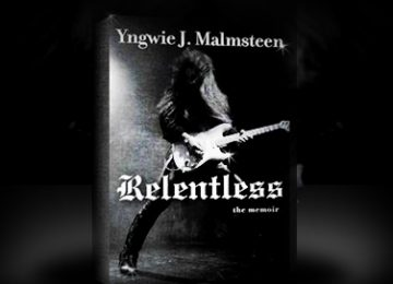 Yngwie Malmsteen - Relentless Book Cover