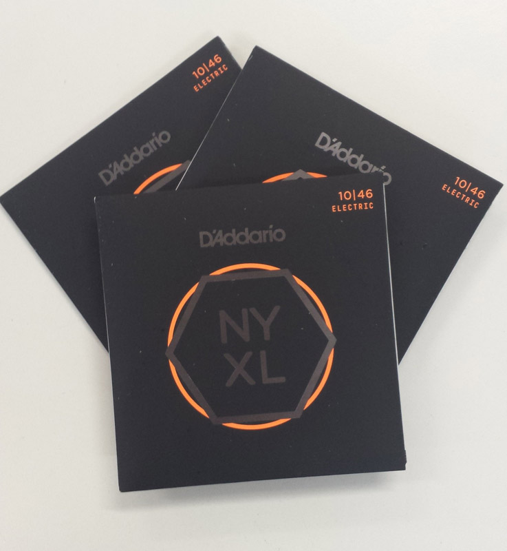 D'Addario Launches New NYXL Guitar Strings