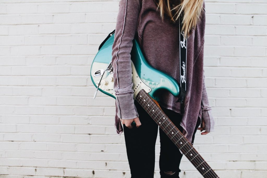 Girl With Stratocaster