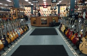 A Guitar Store