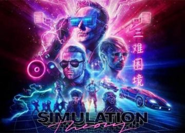 Muse - Simulation Theory Album Art