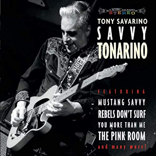 Savvy Tonarino Album Cover Art