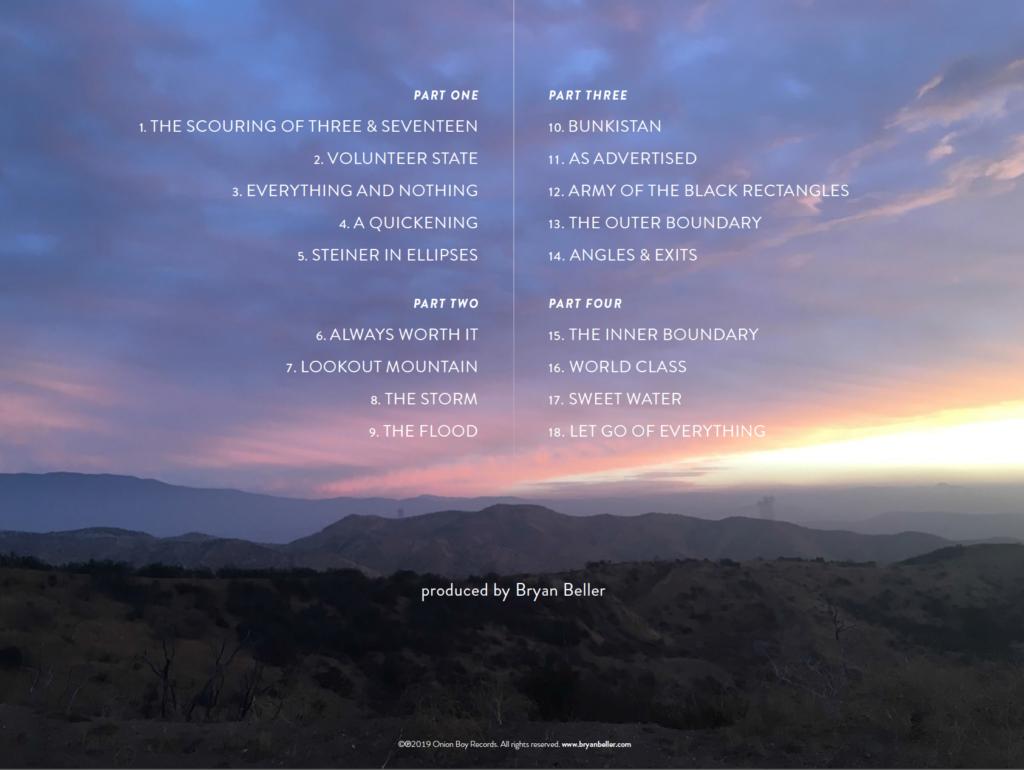 Bryan Beller - Scenes From The Flood - Album Cover Back